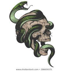 Descubra essa e milhões de outras fotos, ilustrações e imagens vetoriais livres de direitos na coleção da Shutterstock. Milhares de imagens novas de alta qualidade adicionadas todos os dias. Feminine Skull Tattoos, Floral Skull Tattoos, Bird Skull Tattoo, Animal Skull Tattoos, Pirate Skull Tattoos, Indian Skull Tattoos, Skull Tattoo Design, Tattoo Floral, Skull Design