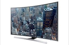 """55"""" 4K Curved Geek TV with Android"""