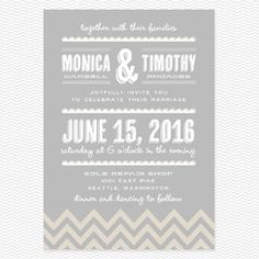 Place to Be Wedding Invitations