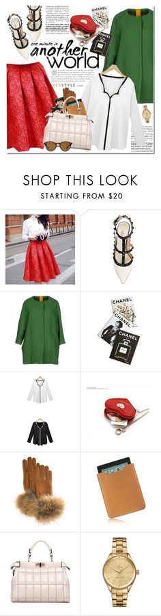 """""""Holiday With YesStyle"""" by oshint ❤ liked on Polyvore featuring Valentino, Michele Rossi, Assouline Publishing, Bravo, FRR, Acqua di Parma, LineShow, Lacoste, Ray-Ban and Christmas"""