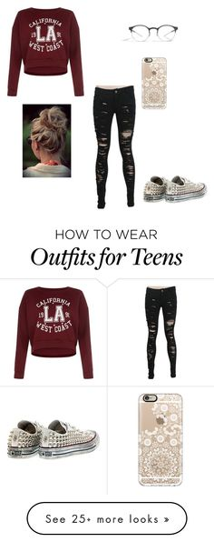"""""""love"""" by jocelyne-luna on Polyvore featuring Converse, Casetify and Mykita"""