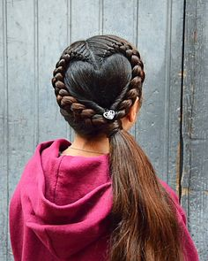 Stylish Heart Hairstyles For Kids Braided Heart Hairst. Stylish Heart Hairstyles For Kid. Afro Hairstyles For Kids, Valentine's Day Hairstyles, Little Girl Hairstyles, Church Hairstyles, Kids Hairstyle, Braid Hairstyles, Halloween Hairstyles, Hairstyle Short, School Hairstyles