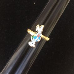 Vintage Bugs Bunny Ring Classic fun! Vintage Accessories Jewelry