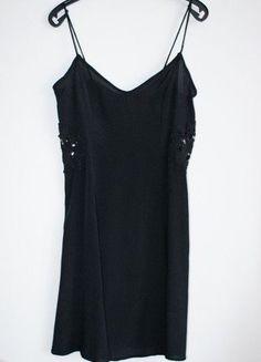 Kup mój przedmiot na #vintedpl http://www.vinted.pl/damska-odziez/krotkie-sukienki/15143082-asos-czarna-rozkloszowana-sukienka-cami-34-36