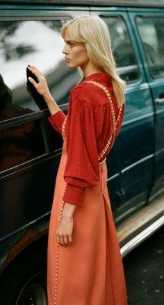Aymeline Valade by Thomas Whiteside for Harper's BAZAAR Spain Nov. 2015   Fashion photography   Editorial