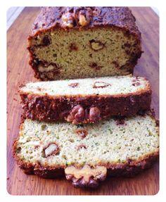 Grain Free Courgette & Walnut Bread - The Little Green Spoon Dessert Bread, Paleo Dessert, Clean Recipes, Real Food Recipes, Paleo Bread, Paleo Diet, Clean Eating Desserts, Paleo Breakfast, Grain Free