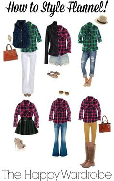 How to style a flannel shirt, and where to buy!
