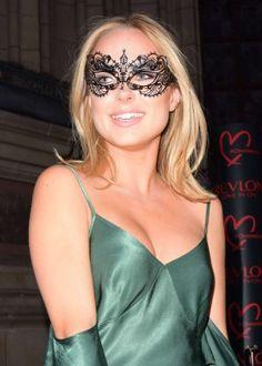 Kimberley Garner: Revlon Choose Love Masquerade Ball -01