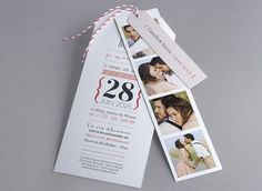 Faire-part de mariage - M42-004