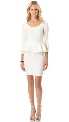 alice + olivia Amanda Peplum Dress, Perfect Yom Kippur Dress