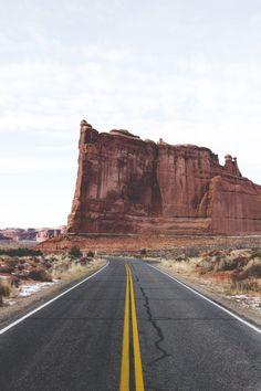 onlydillon: Arches National Park Road -- Dillon Makar  Instagram|Tumblr