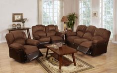 Furniture 2 Pc Motion Loveseat Sofa Chocolate Brown Microfiber Living Room Set - Sofa Living - ideas of Sofa Living - Furniture 2 Pc Motion Loveseat Sofa Chocolate Brown Microfiber Living Room Set Price : Sofa And Loveseat Set, Living Room Leather, Furniture Upholstery, Furniture, Cheap Living Room Sets, 3 Piece Living Room Set, Living Room Sets Furniture, Living Room Sets, Sofa Set