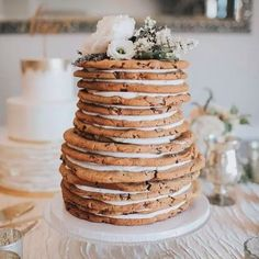 Not a cake person? Then don't have a wedding cake! Check out 9 alternatives to the traditional wedding cake on our blog (link in bio). 📷: @greatdanebakingco #weddingdetails #weddingcake #torontoweddings #weddingblog #torontoweddingvideographer #torontoweddingvideography #weddingvideography #weddingvideographer #weddingcakealternatives #cakealternatives Wedding Shower Cakes, Big Wedding Cakes, Floral Wedding Cakes, Wedding Cake Decorations, Boho Wedding, Wedding Bells, Dream Wedding, Wedding Fun, Wedding Reception