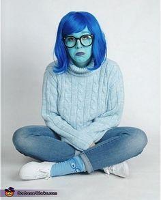 Inside Out Sadness - DIY Halloween Costume Idea