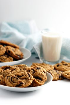 The New York Times Essential Chocolate Chip Cookie Recipe, made Vegan
