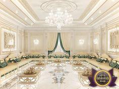 Arabic Majlis Interior Design from Luxury Antonovich Design | Katrina Antonovich