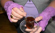 Pulswärmer / Handschuhe von wollkaethe auf DaWanda.com