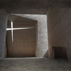 . . . of light. Interior of La Laguna Church in Tenerife, Spain, designed by Spanish architect Fernando Menis.