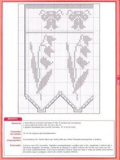 Crochê - Arte de Bordar - Bicos e Barrados - Elaine Cristini - Picasa Webalbumok