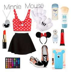 """Minnie Mouse"" by powellsamantha-1 on Polyvore"