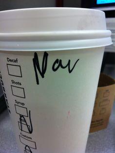Looks like Starbucks needs some help navigating the spelling of my name. Ba dum bum. #Starbucks #coffee #humor
