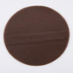 Premium Tulle Circle Chocolate Brown - 12 inch x 25 Pieces Mesh Ribbon, Organza Ribbon, Burlap Ribbon, Tulle Fabric, Burlap Chair Sashes, Burlap Tablecloth, Sequin Backdrop, Tulle Material, Banquet Chair Covers