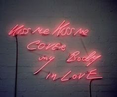 An installation by Tracey Emin