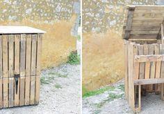 DIY : Fabriquez un composteur en récup' à partir de bois de palette