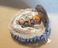 Veilleuse couffin lumineux bébé garçon et son ours - au coeur des arts - Enfants - Au coeur des Arts