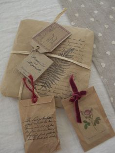 I have that fern stamp and script stamps - shouldn't  be too difficult to make!