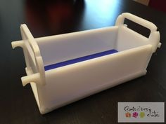 HDPE polietilén szappan öntőforma 20cm. Ajándék szilikon lappal