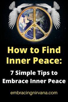 Embrace Inner Peace Buddhist Teachings, Buddhism, Buddha Zen, Finding Inner Peace, Spiritual Meaning, Feeling Stuck, Self Care Routine, Happy Life, Personal Development