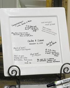 Signature Decorative Platter, Pen. http://www.bluerainbowdesign.com/WeddingFavorProduct.aspx?ProductID=PR0317111749990aUBFIr482KpBRD99789=WEDDI=GROUP=WDISH