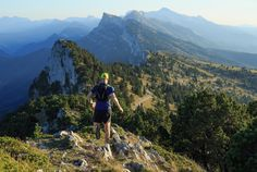 Vercors run - Trail running down the mountains of Les Vercors on a beautiful afternoon in France. I'm looking forward to running here again!