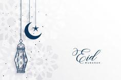 islamic eid festival greeting with lamp and moon - Buy this stock vector and explore similar vectors at Adobe Stock Eid Adha Mubarak, Eid Al Fitr, Eid Mubarak Greeting Cards, Eid Cards, Eid Mubarak Greetings, Happy Eid Mubarak, Eid Wallpaper, Eid Mubarak Background, Ramadan Background