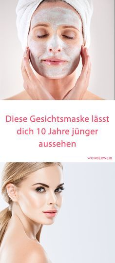 Gesichtsmaske 10 Jahre jünger