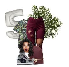 """""""Final 5"""" by chiamaka-ikaraoha ❤ liked on Polyvore featuring Nearly Natural, PS Paul Smith, Diane Kordas, MICHAEL Michael Kors, NIKE, Lime Crime and Michele"""