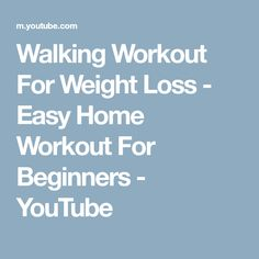 Walking Workout For Weight Loss