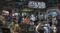 Project: Star Wars Land Project Size: 14 acres per park (28 acres total) Project Location: Disney Land (Los Angeles, California), Dis...