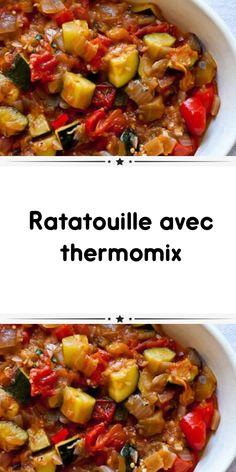 ratatouille thermomix faites un délicieux plat pour le déjeuner de toute la famille facilement avec le thermomix et la recette du ratatouille thermomix.