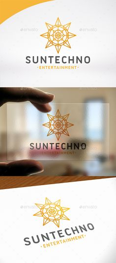 Sun Tech Logo PSD Template • Only available here ➝ http://graphicriver.net/item/sun-tech-logo-template/16656765?ref=pxcr