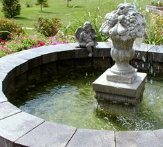 How to Build an Above Ground Pond  Enhance your flower garden with a beautiful pond using the AB Courtyard Collection. With this flexible system you can build a pond in a weekend without any special tools and without splitting blocks.