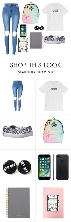 """School #16"" by marvel1 ❤ liked on Polyvore featuring Vans, Apple and Mulberry"