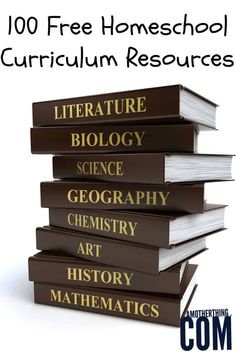 Keeping your budget low while homeschooling is easy when you utilize this list of Free Homeschool Curriculum. Our list includes over 100 resources for free lesson plans, complete curriculum or resources to use for lesson plans. This encompasses preschool, Homeschool High School, Free Homeschool Curriculum, Curriculum Planning, Daycare Curriculum, Lesson Planning, Primary School, How To Start Homeschooling, Online Homeschooling, Catholic Homeschooling