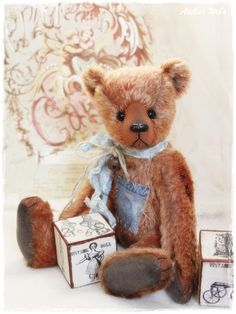 Bastelpackung/Kit ~ Henry ~ 24 cm von Atelier Wiba-Bär auf DaWanda.com