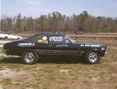 1969 Chevrolet Nova vintage race car