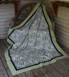 Whole Cloth Quilt by Quiltsalad, via Flickr