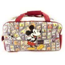 "travel bag ""Mickey"" red tutti frutti"