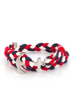 Marine Anchor Bracelet   /////FREE SHIPPING///// by ALAZMENBYCAGRI, $80.00