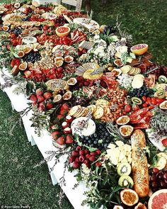 Broke best friends find success after starting platter business 'We buy the fresh produce we use every day in bulk – baby spinach, kale, sweet potato, berries Charcuterie Wedding, Charcuterie And Cheese Board, Wedding Catering, Cheese Boards, Wedding Trends, Diy Wedding, Rustic Wedding, Wedding Ideas, Wedding Photos